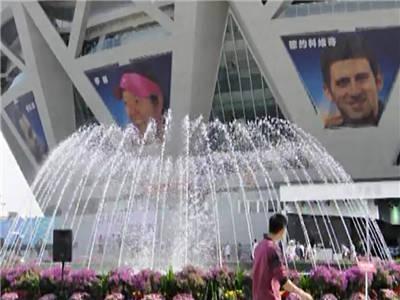 2012中国羽毛球公开赛音乐喷泉控制系统