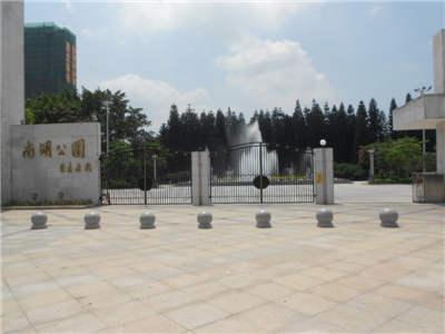 惠东南湖公园音乐喷泉控制系统