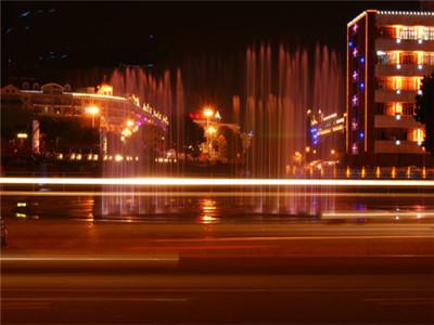 内蒙古多伦旱地音乐喷泉控制系统