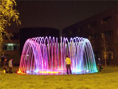 北京兰天方圆广场旱地音乐喷泉控制系统及控制柜